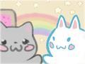 Nyan Cat high-five~<3