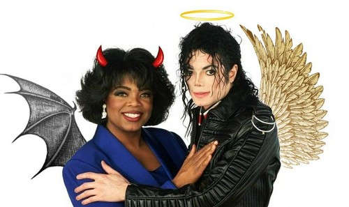 Oprah and Michael!