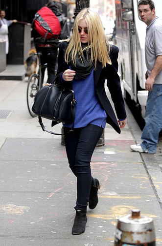 Out and about in SoHo