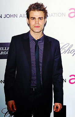 Paul Wesley at Elton John Aids Foundation Party 2012