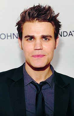 Paul Wesley at Elton John Aids Foundation Party 2012