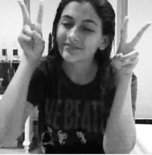 Paris Jackson images Peace out paris wallpaper and background photos