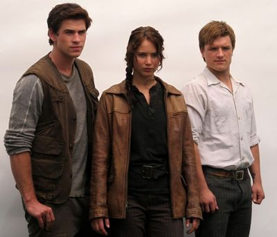Peeta, Katniss. and Gale