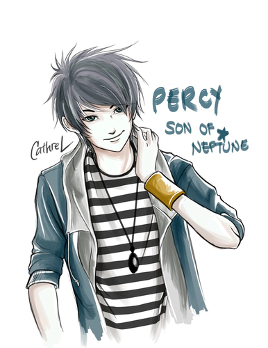 Percy  - the-heroes-of-olympus Fan Art