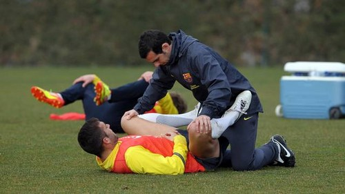 Pinto, Keita and Pedro train with B team