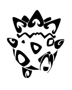 Tribal tattoos achtergrond entitled Pokemon