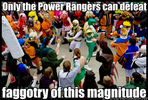 Power Rangers Vs. Naru-tards
