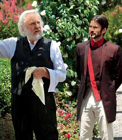 President Snow and Seneca کرین