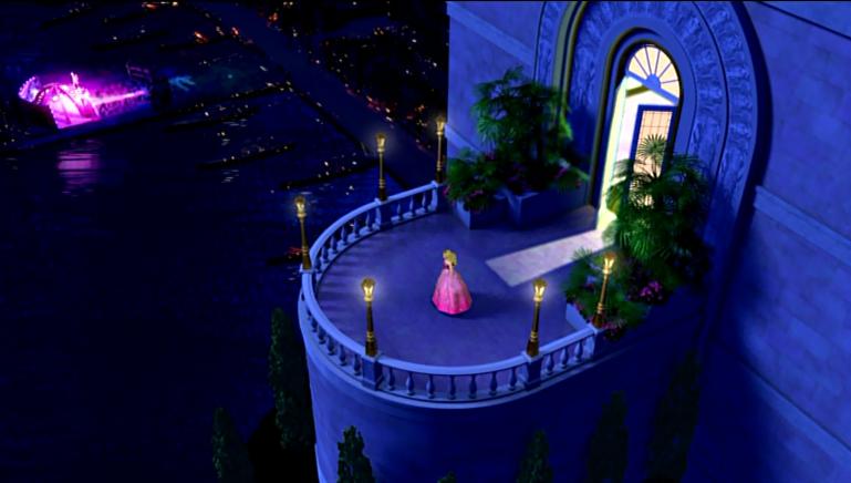 Princess & The Popstar Tori watching concert - barbie-movies