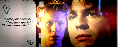 Television wallpaper entitled Queer as Folk