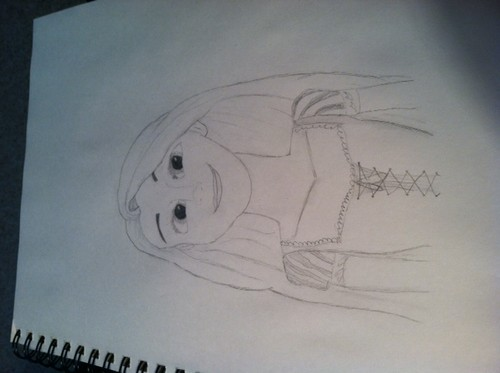 Rapunzel drawing :D