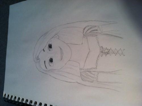 Rapunzel drawing :D