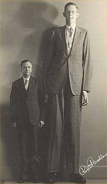 Robert Pershing Wadlow (February 22, 1918 – July 15, 1940