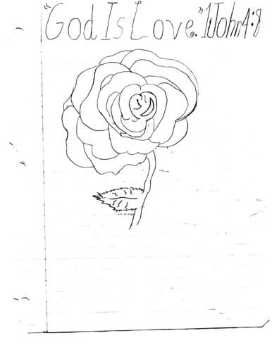 Mother Nature Hintergrund called Rose