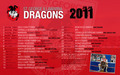 ST George Dragons Draw 2011