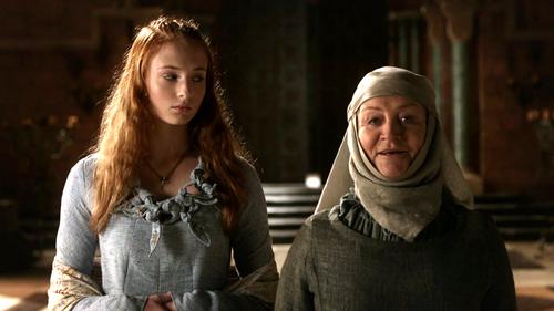 Sansa Stark and Mordane