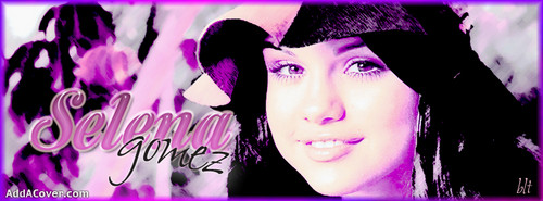Selena Gomez Facebook cover تصاویر from addacover.com