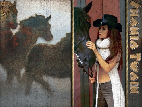 shania twain fondo de pantalla containing a fedora, a dress hat, and a galago entitled Shania Twain