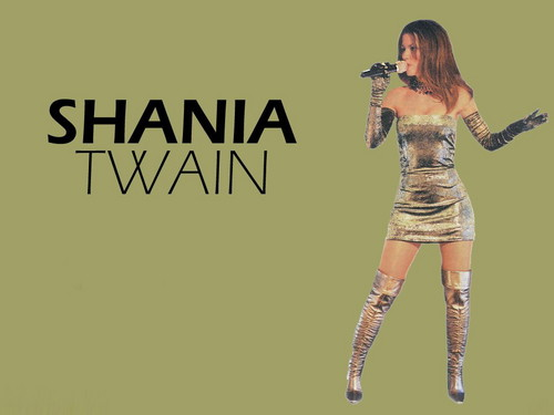 Shania Twain wallpaper with a hip boot entitled Shania Twain