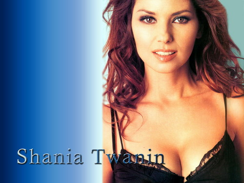 Shania Twain karatasi la kupamba ukuta containing attractiveness and a portrait titled Shania Twain