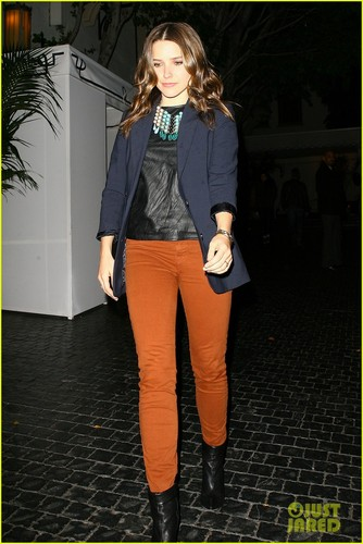 Sophia Bush: castillo, chateau Marmont Night Out!
