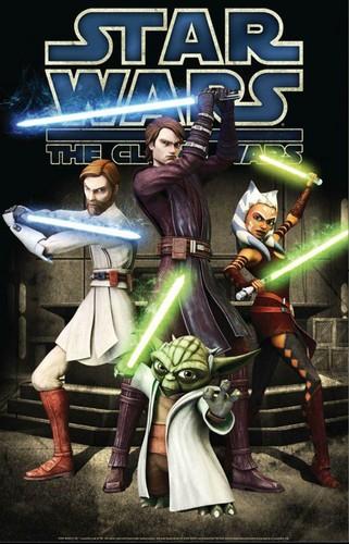 星, つ星 Wars Clone wars