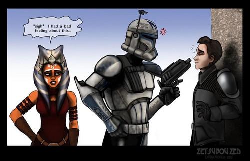 তারকা Wars Clone wars