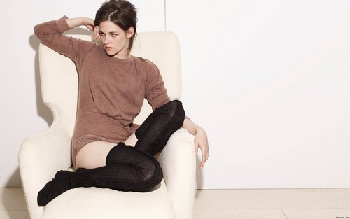 Kristen Stewart wallpaper containing bare legs, hosiery, and tights titled Stewart