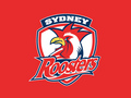 Sydney Roosters Red Logo - nrl wallpaper