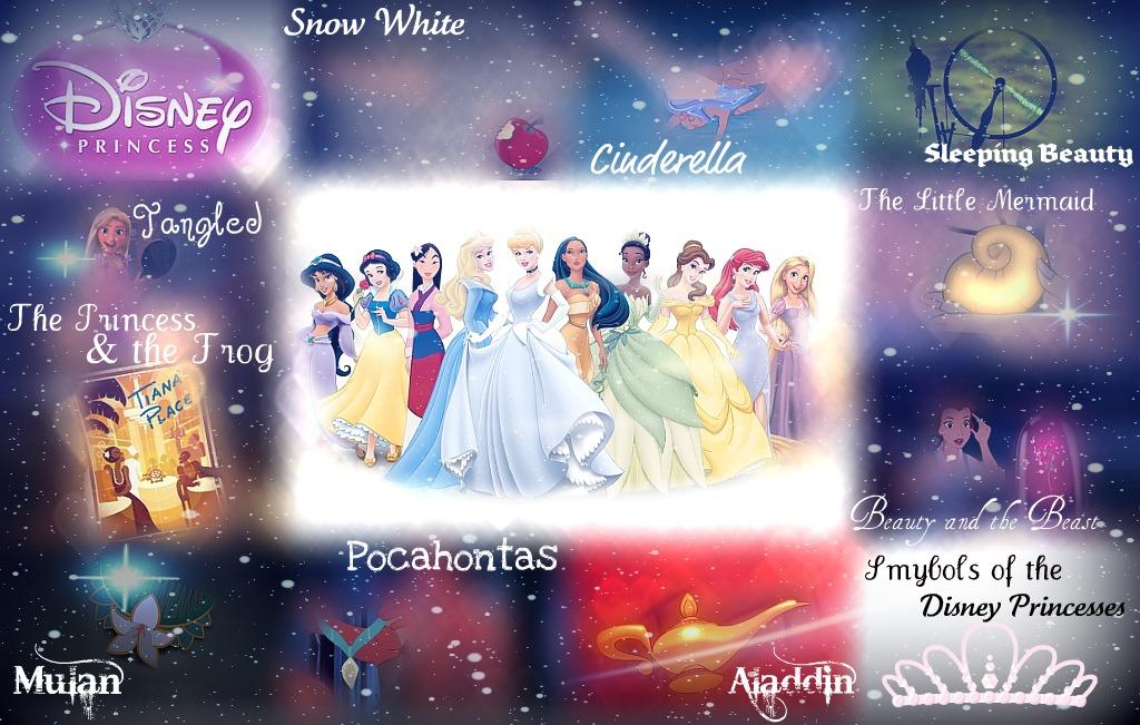 Disney Princess Images Symbols Of The Disney Princesses Hd Wallpaper