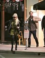 Taylor out in LA with Gaga