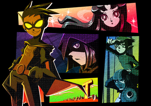 Teen Titans fã Art