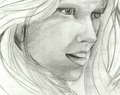 Teresa Palmer Sketch - sketch-drawings fan art