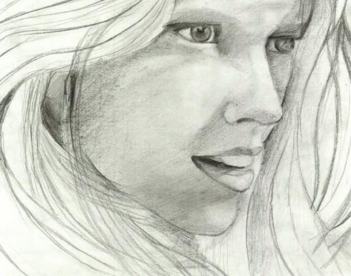 Teresa Palmer Sketch