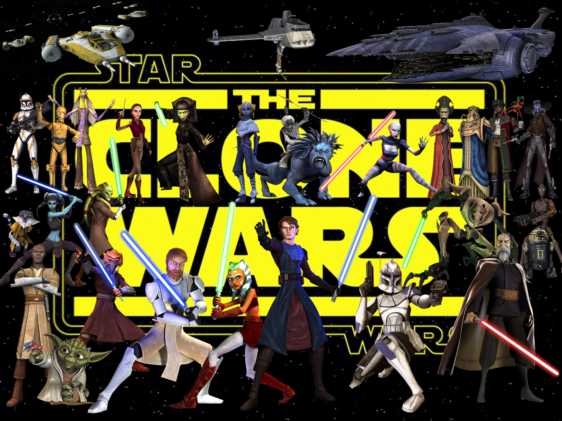Star wars the clone wars!