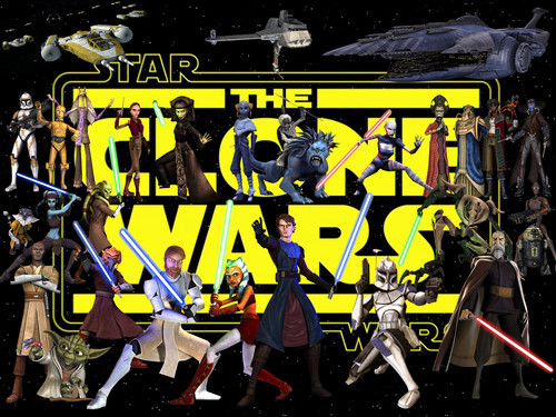 stella, stella, star Wars wallpaper entitled The Clone Wars!