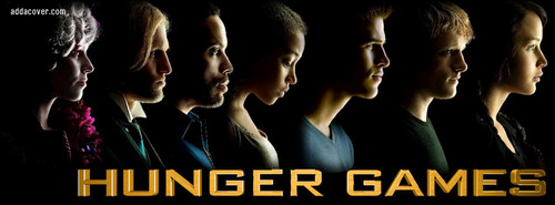 The Hunger Games  facebook cover at addacover.com
