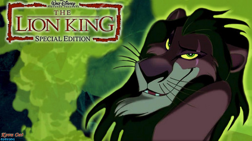 The Lion King Scar achtergrond HD