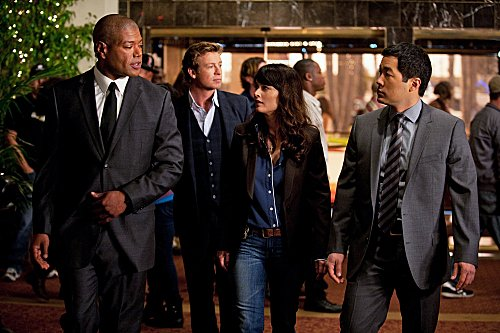 The Mentalist - 4x19 roze Champagne on Ice- Promotional foto's