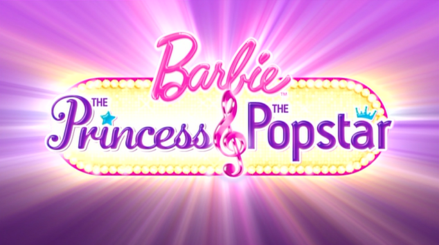The Princess & The Popstar logo - barbie-movies