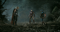 Thor, Iron-Man, and Captain America - the-avengers screencap