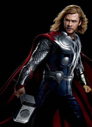 The Avengers wallpaper containing a breastplate, an armor plate, and a brigandine called Thor