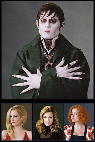 Tim Burton's Dark Shadows 2012 Characters