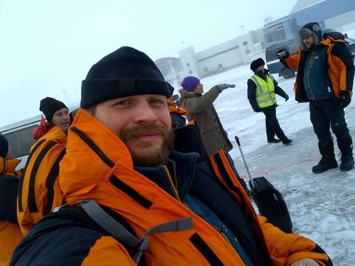 Tom Hardy in Yakutsk, Russia.