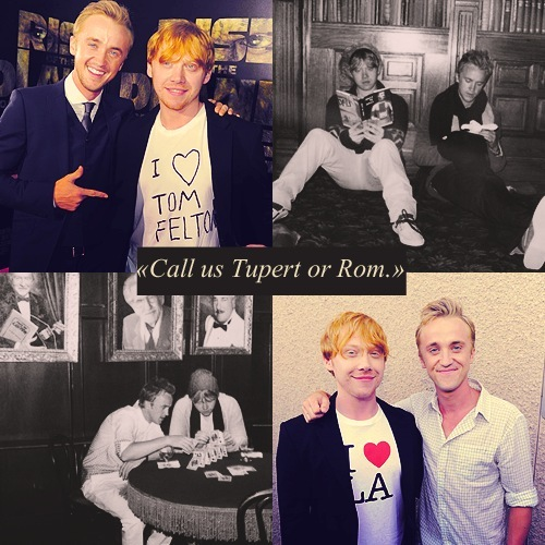 Tom and Rupert