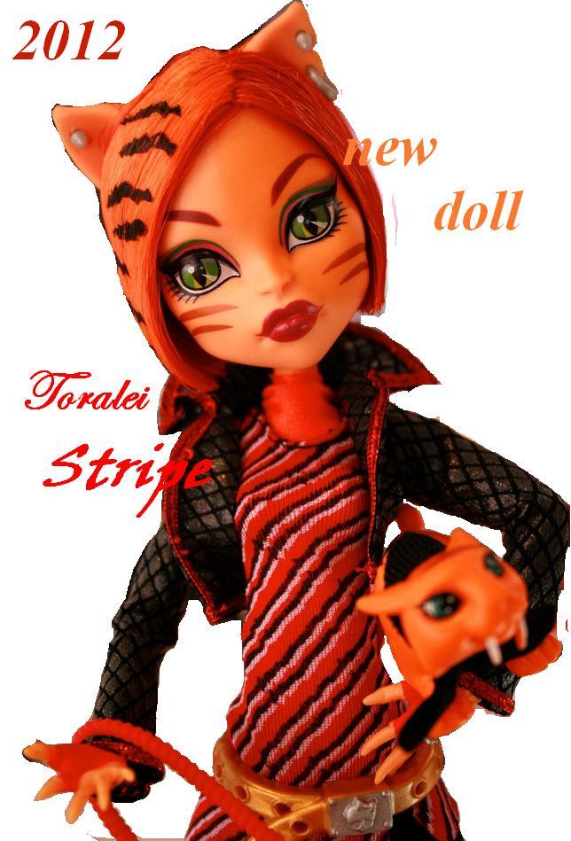 Toralei Stripe doll - monster-high photo