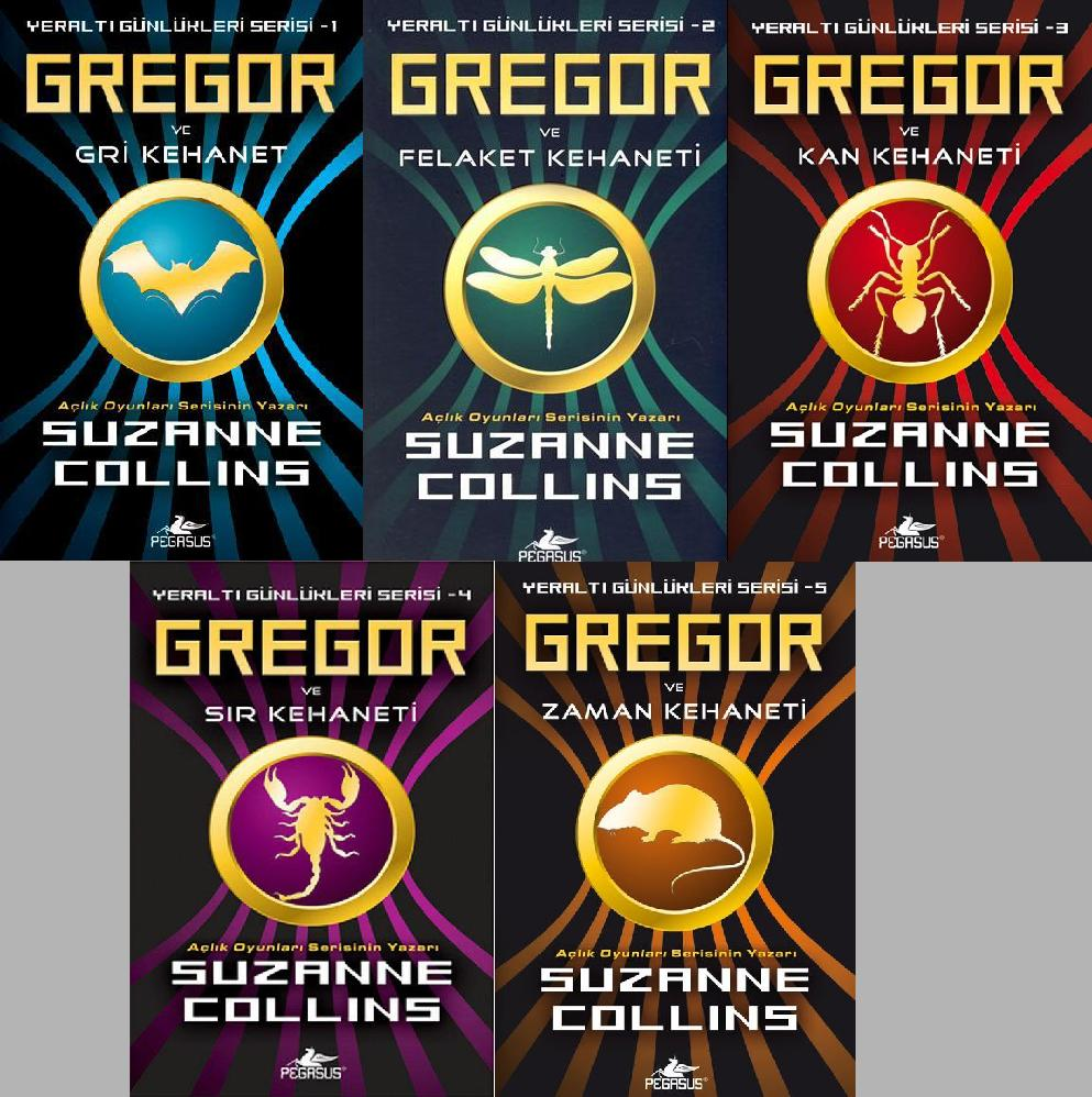 The Underland Chronicles #1: Gregor The Overlander by Suzanne Collins (2004)