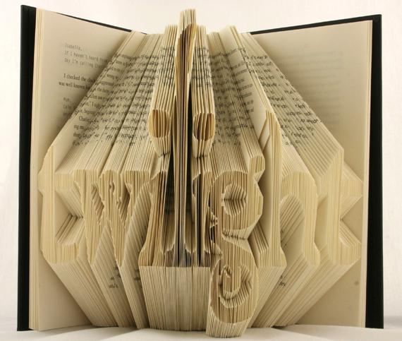 Twilight book origami