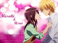 Usui$Misaki pic by Pearl!~ :D - kaichou-wa-maid-sama wallpaper