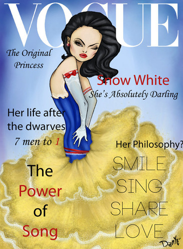Vogue Disney Darlings - Snow White (Repainted)